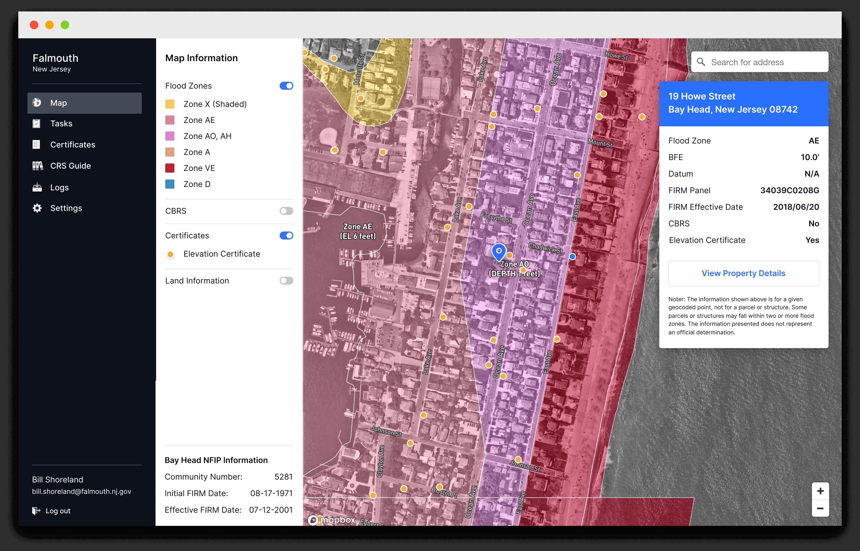 Flood Information Website Image
